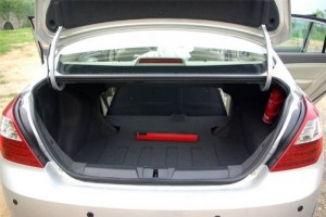 Объем багажника Geely Emgrand EC7