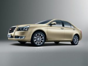 Geely Emgrand EC8 краш-тест
