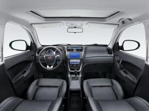 Салона автомобиля Emgrand X7 от Geely