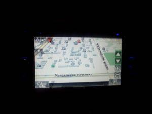 Навигация в не штатном мультимедийном центре для Emgrand