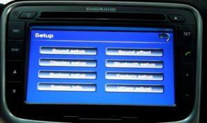 Настройка Bluetooth для автомагнитолы Emgrand