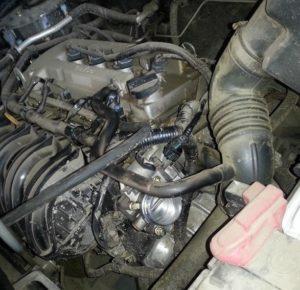 Промывка двигателя Geely Emgrand