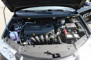 Показатели двигателя Emgrand
