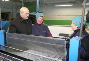 Лукашенко о Geely Emgrand X7