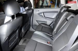 Кожаный салон максимальной комплектации Geely Emgrand X7