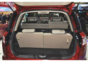 Geely Emgrand X7 характеристики багажника