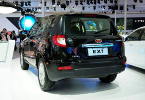 Комплектация Geely Emgrnad X7 2.4 Basic AT