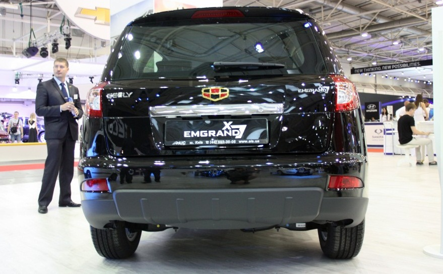 Geely emgrand кредит
