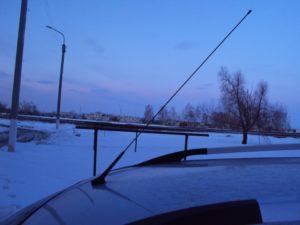 Антенна на крышу Geely MK Cross своими руками