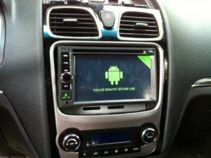 Магнитола Андроид для Geely Emgrand 7