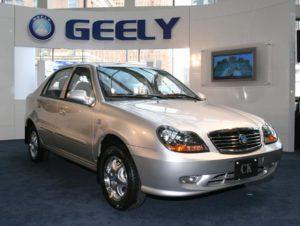 Народный автомобиль Geely CK