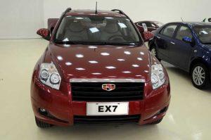 Geely Emgrand ЕX7 в автосалоне
