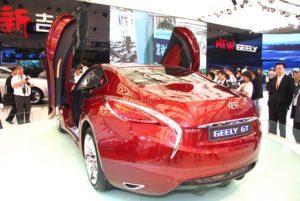 Новая Geely GT
