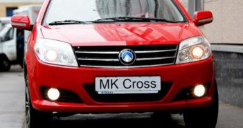 Geely MK Cross видео обзор