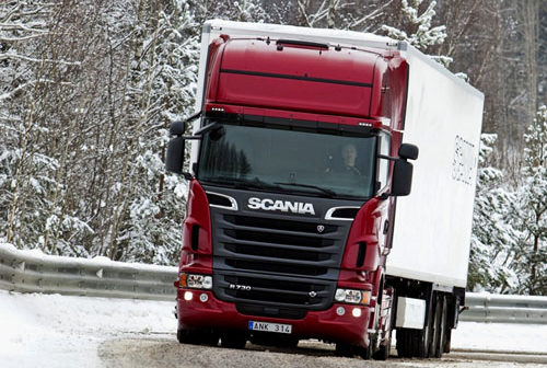 Обзор грузовиков Scania
