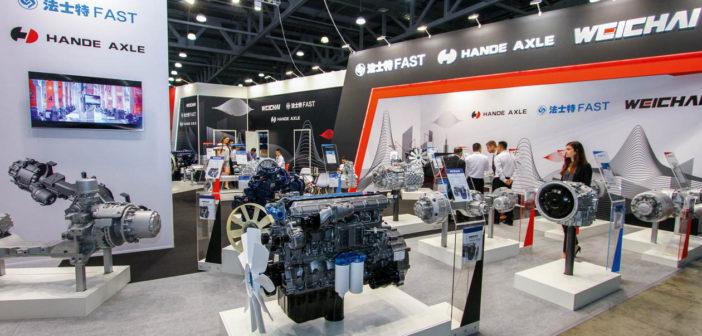 Газовые двигатели Weichai
