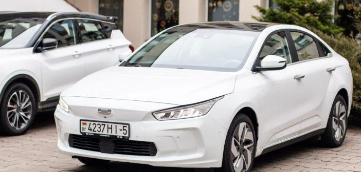 Электромобиль Джили – конкурент Тесла с запасом хода 410 и 500 км