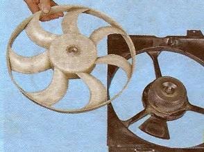 вентилятор радиатора джили мк