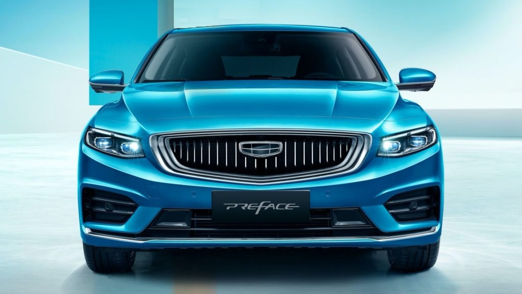 Geely Preface 2020